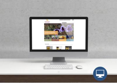 Création site internet Périgueux : Safran de Saint-Amand, produits du safran