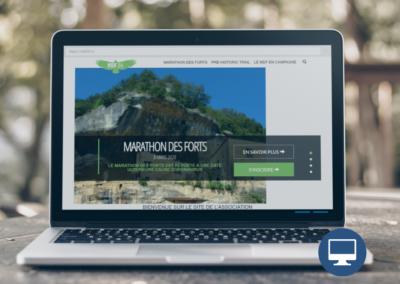 Création site internet Périgueux : MDF 24, association sportive en Dordogne