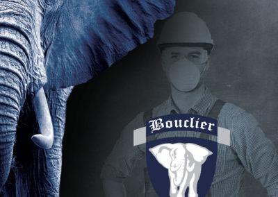 Création Plaquette Commerciale Bouclier