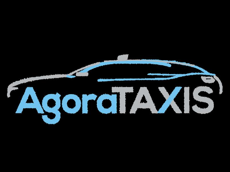 Création Logo Agora Taxis