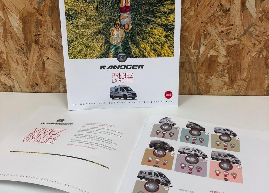 Création Catalogue Produits Gamme 2018 Randger
