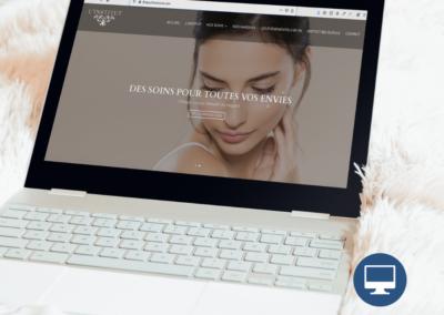 Création site internet Périgueux : Institut de beauté VK