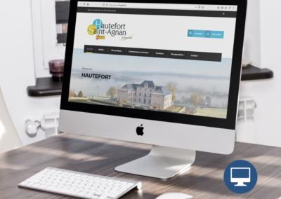 Création site internet : Mairie – Commune de Hautefort