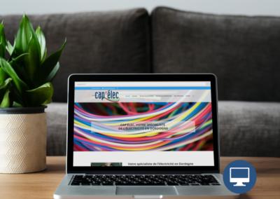 Création site internet Périgueux : Capelec 24, électricien