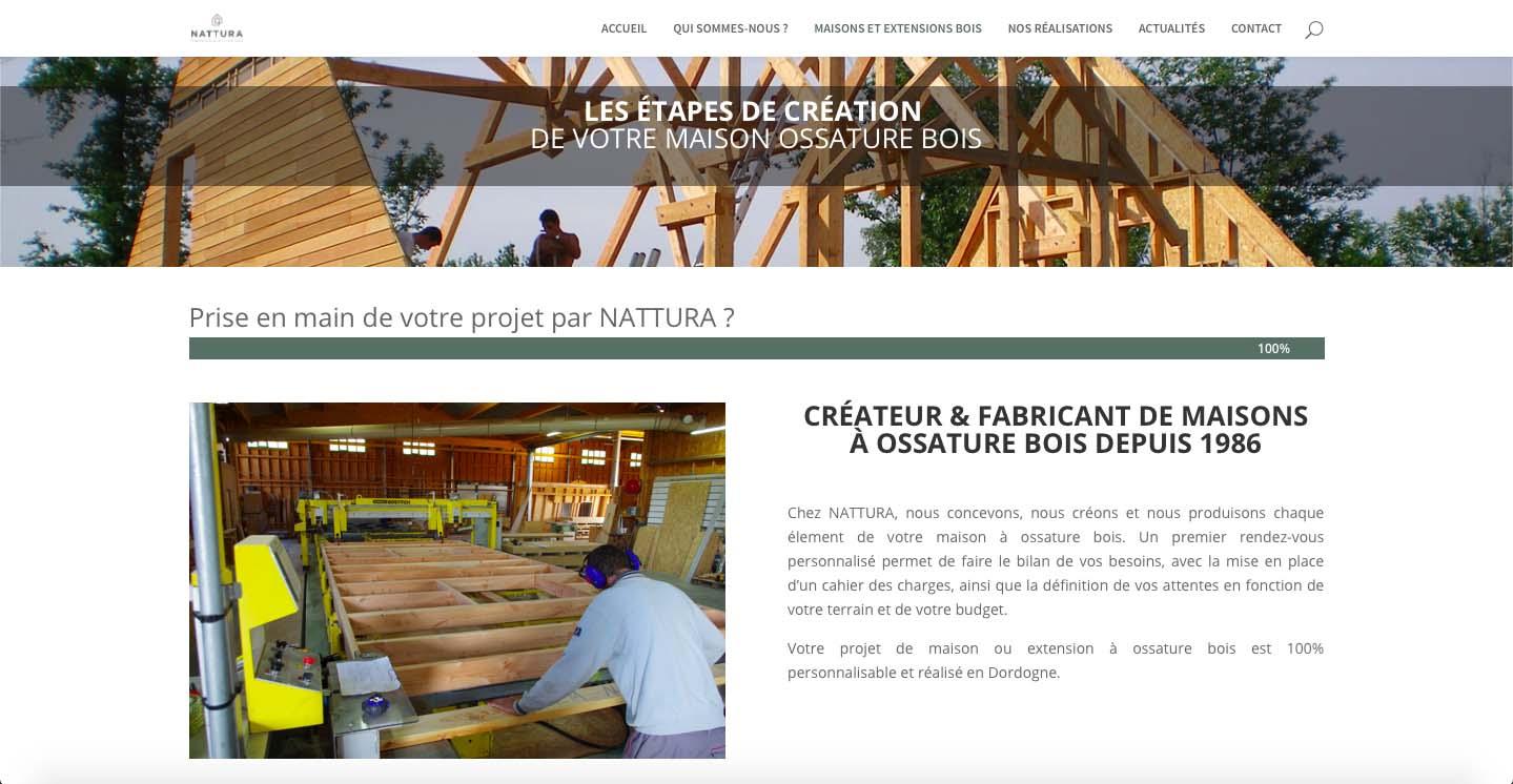 creation-site-internet-constructeur-de-maisons-en-bois-nattura-dordogne