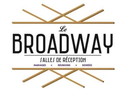 Création Identité Visuelle Le Broadway