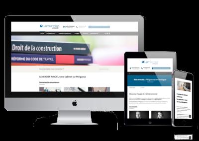 Site Web Lemercier Avocat