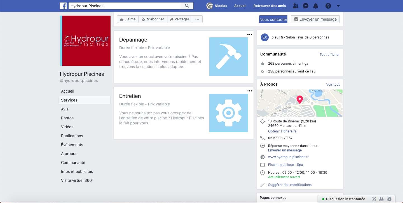 campagne-facebook-ads-pisciniste-hydropur-piscines-dordogne