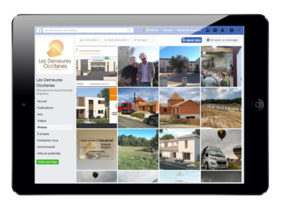 Animation Page Facebook Demeures Occitanes