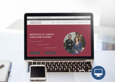Création site internet Périgueux : Avocats Gokelaere et Maris