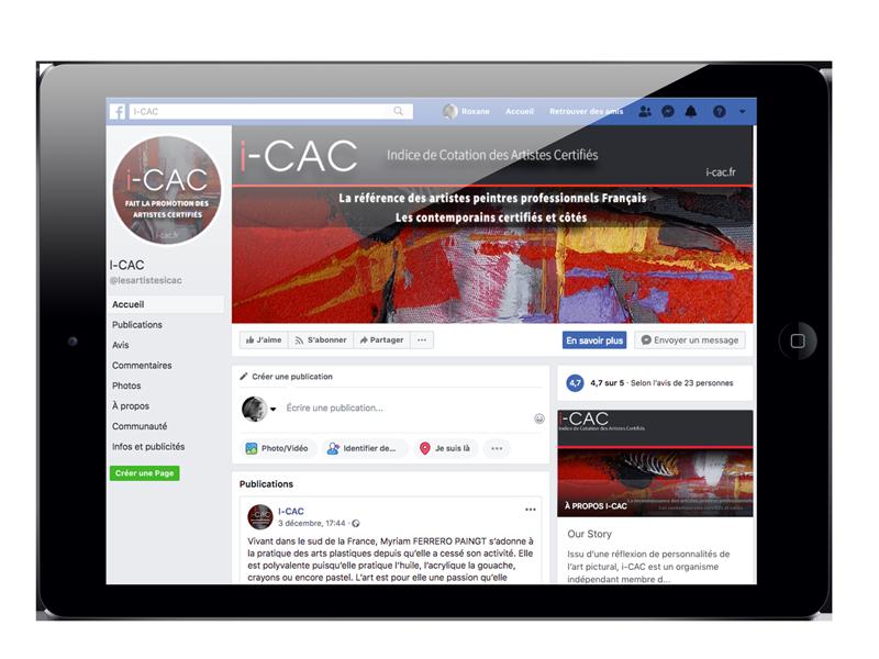 Campagne de communication digitale I-CAC