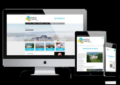 Site Web Mairie de Hautefort