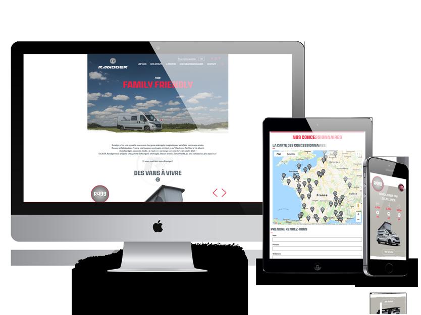 Site Web Randger