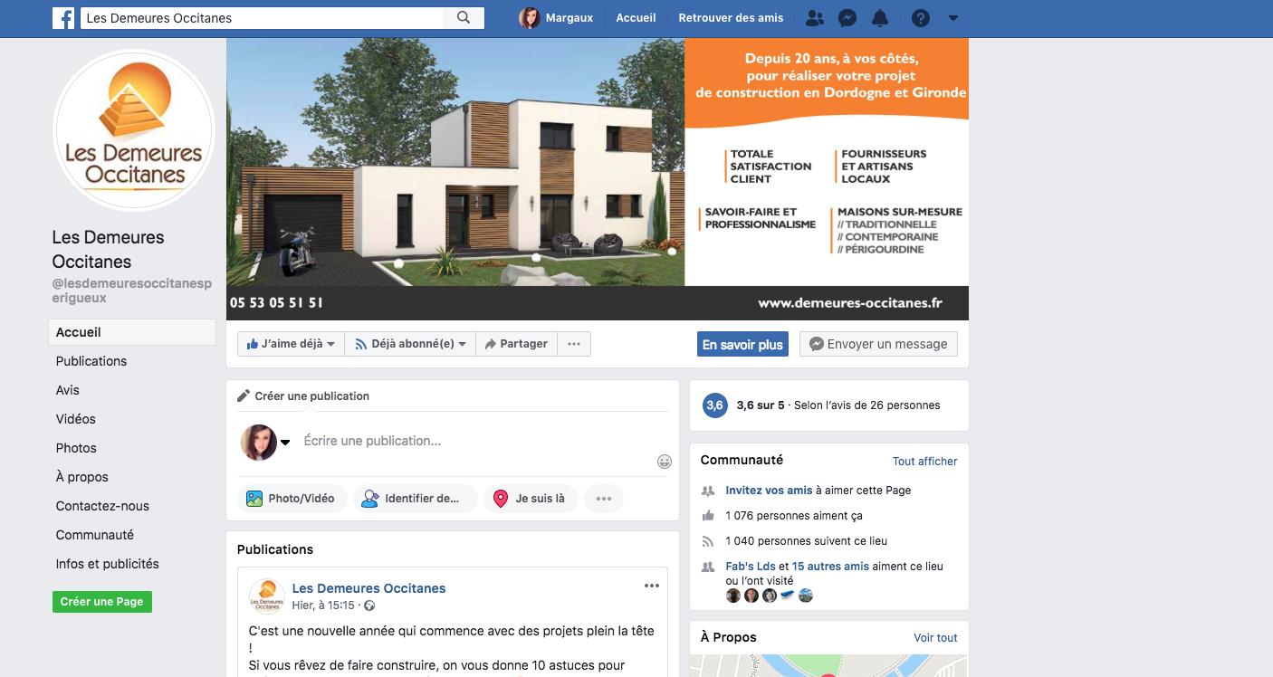 facebook demeures occitanes