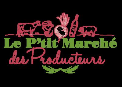Création Logo Le P'tit Marché des Producteurs