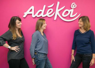 Création enseigne logo Adékoi
