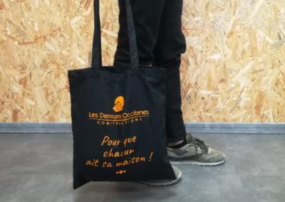 Création d'objets publicitaires Les Demeures Occitanes