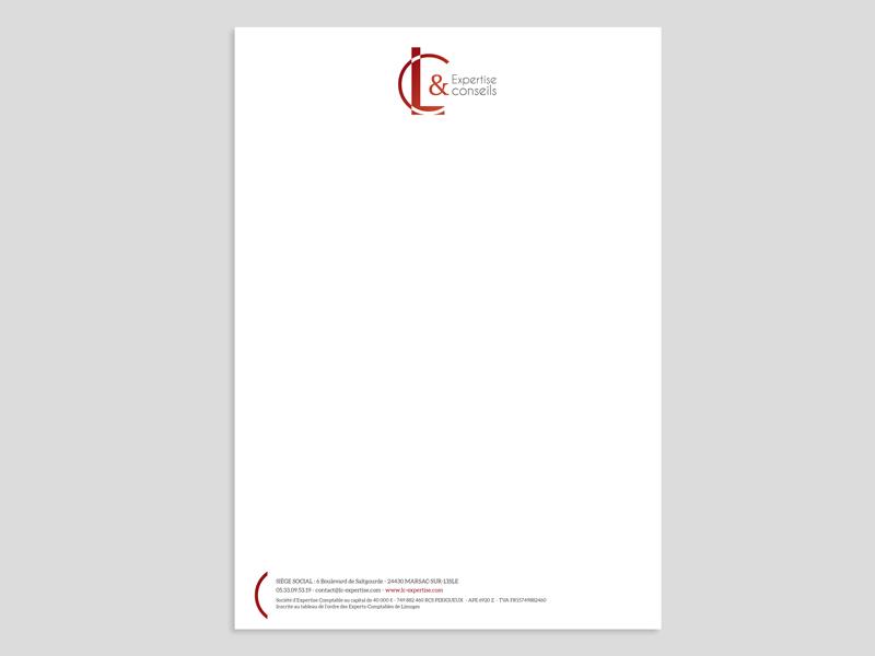 creation-papier-entete-cabinet-comptable-lc-expertise-dordogne