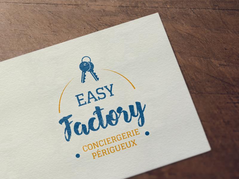 logo Easy Flyer conciergerie Périgueux - Adékoi communication