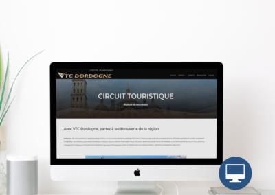 Création site internet Périgueux : VTC Dordogne, chauffeur privé