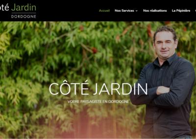 Refonte Site Internet Côté Jardin Dordogne Paysagiste