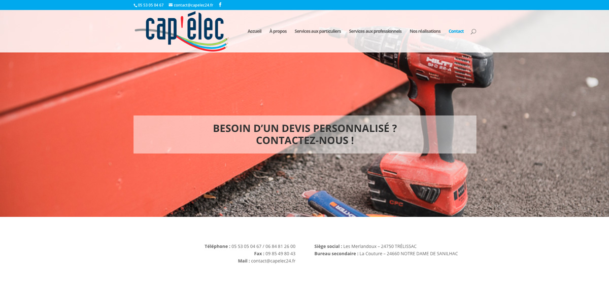 creation-site-internet-electricien-capelec-dordogne