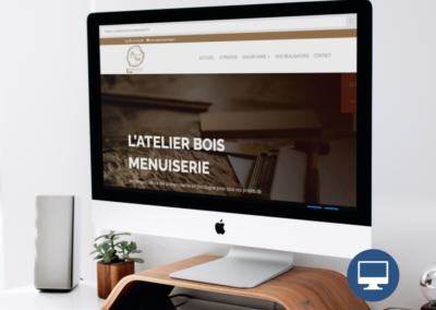 Création site internet Périgueux : Atelier Bois Menuisier