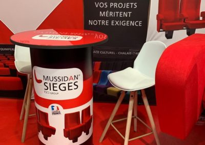 Création Stand salon Mussidan Sièges – FLCI Group