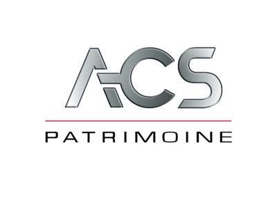 Création logo ACS Patrimoine