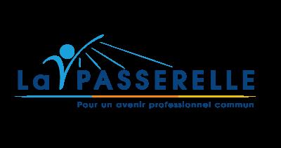 Création logo La Passerelle pour Groupe Vigier entreprises