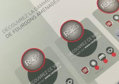 Catalogue produit Randger gamme 2020 - Adékoi agence de communication Nouvelle aquitaine