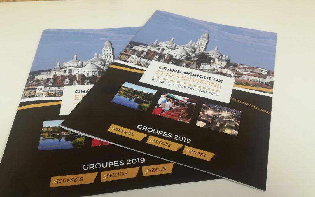 Création Brochure Groupes 2019 Office de tourisme Grand Périgueux