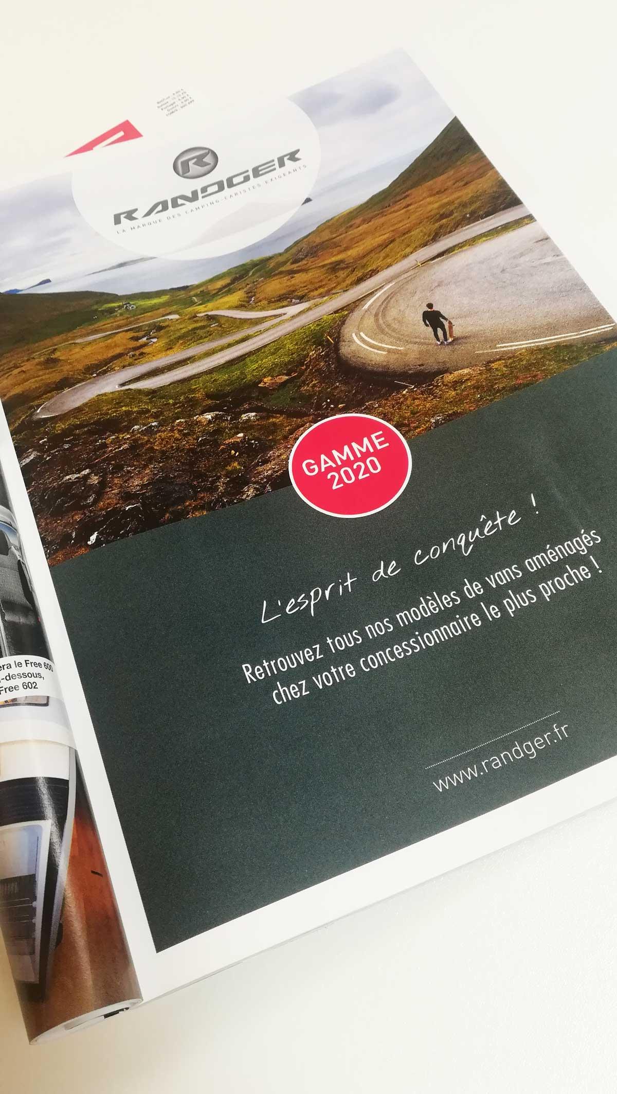 Randger annonce presse - Agence Adékoi Nouvelle Aquitaine