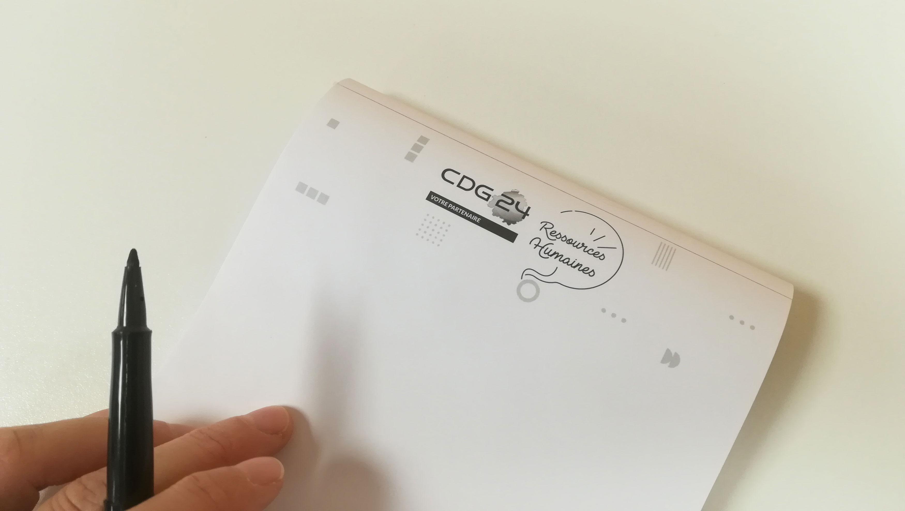 creation-bloc-note-centre-de-gestion-de-la-fonction-publique-cdg24-dordogne