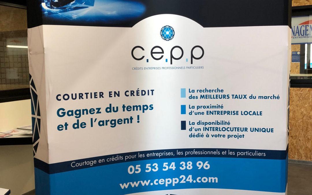 Création Stand salon C.E.P.P