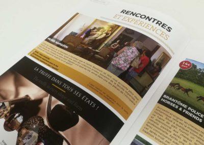 Brochure 2020 Office de tourisme Grand Périgueux - Agence Adékoi communication