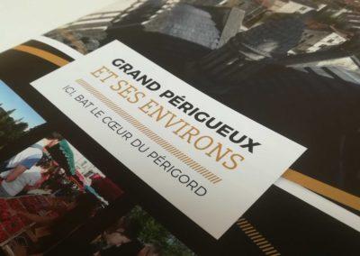 Création Brochure Groupes 2020 Office de tourisme Grand Périgueux