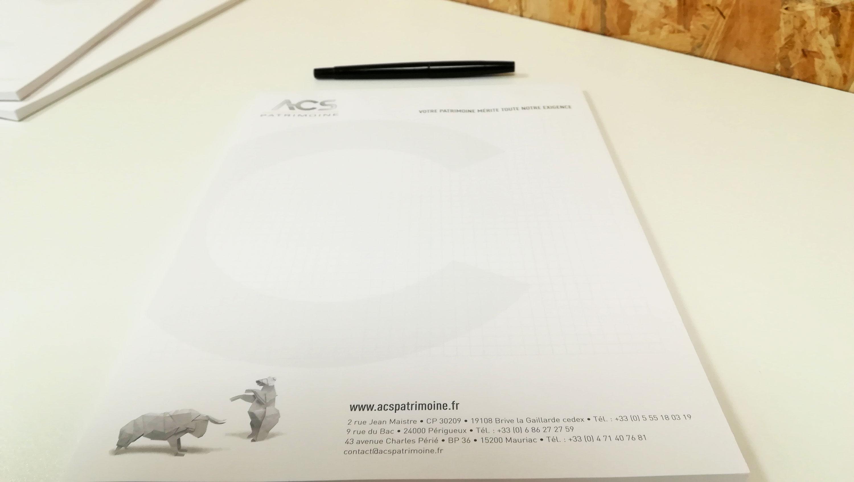 creation-bloc-note-conseil-patrimonial-acs-patrimoine-dordogne