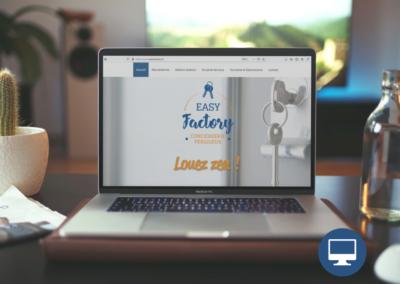 Création site internet Périgueux : Easy Factory, conciergerie à Périgueux