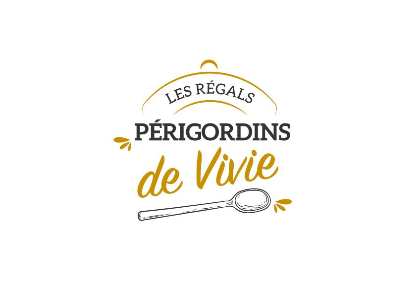 Logo artisan conserveur Les régals périgordins de Vivie - Adékoi communication