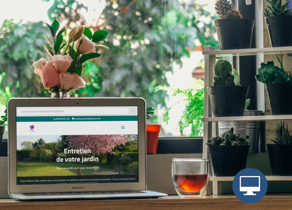 Création site internet Dordogne : Oxalie Jardins
