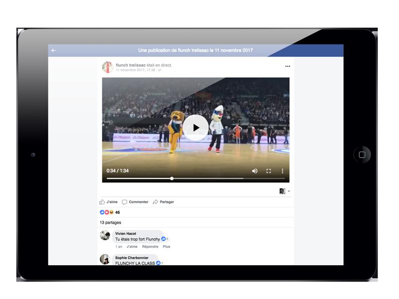 Animation Facebook Flunch Trélissac - AdéKoi réseaux sociaux
