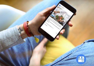 Animation Réseaux sociaux Google my business Confort et Eau