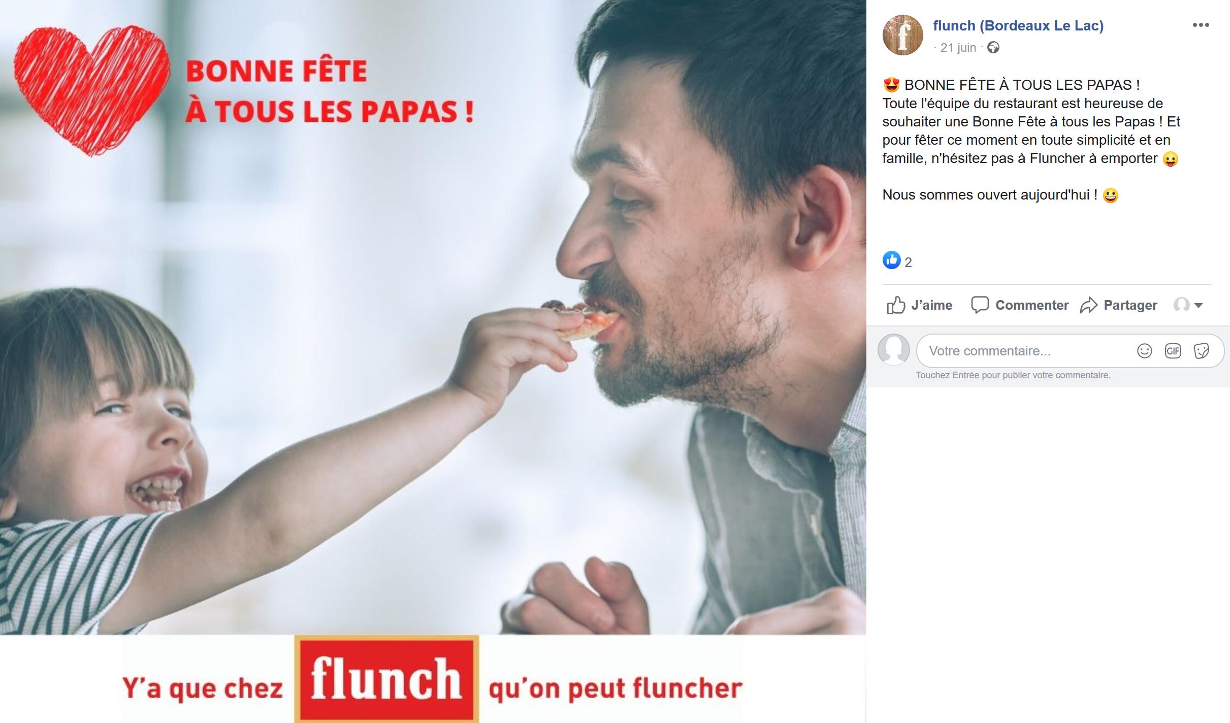 animation-facebook-restaurateur-flunch-bordeaux-lac-gironde