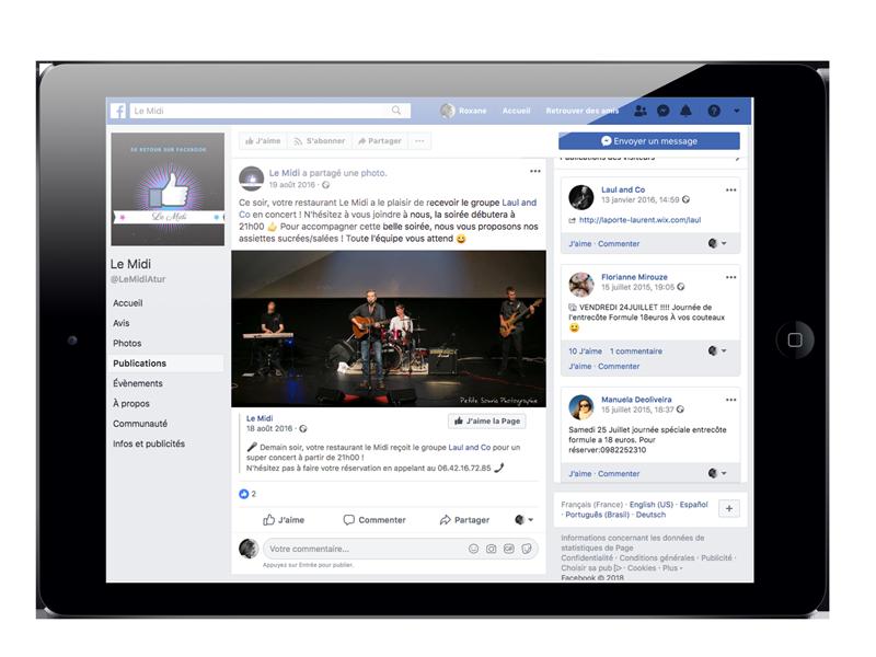 Animation Facebook Le Midi- AdéKoi réseaux sociaux