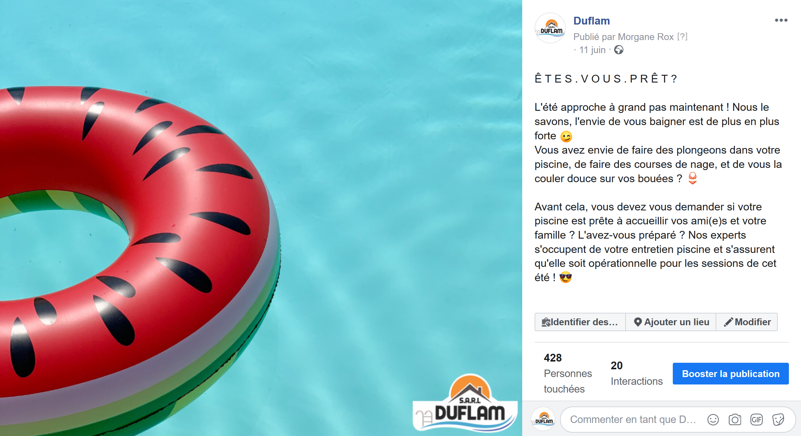 animation-facebook-pisciniste-duflam-dordogne