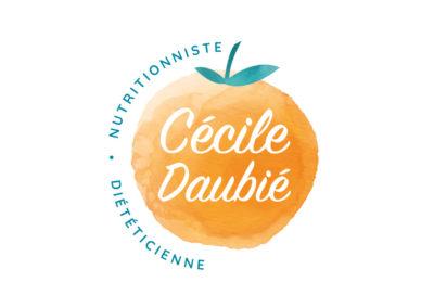 Création logo Cécile Daubié