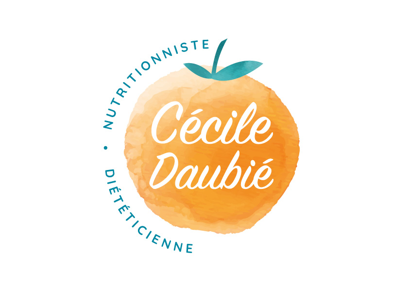 Logo Cécile Daubié nutritionniste - Adékoi communication