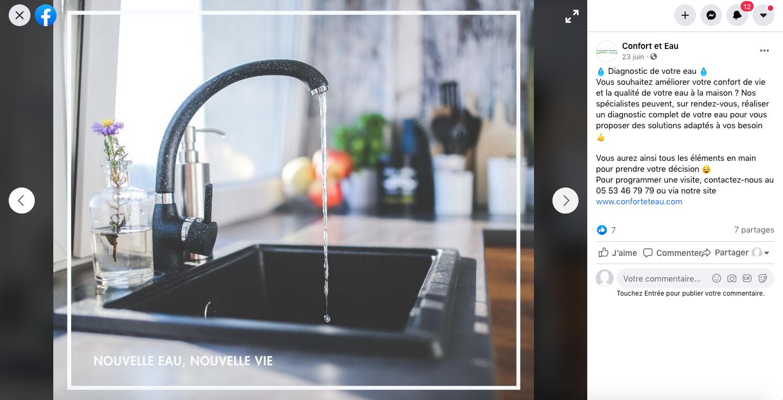 animation-facebook-traitement-de-l-eau-confort-et-eau-dordogne