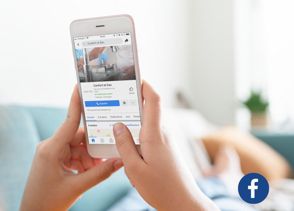 Animation Réseaux sociaux Facebook Confort et Eau